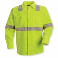 High Visibility Safety Long Sleeve Work Shirt